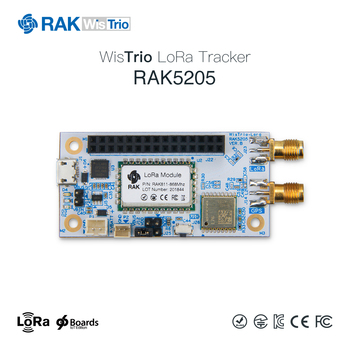 RAK5205 WisTrio LoRa Tracker Module SX1276 LoRaWAN Modem Sensor Board