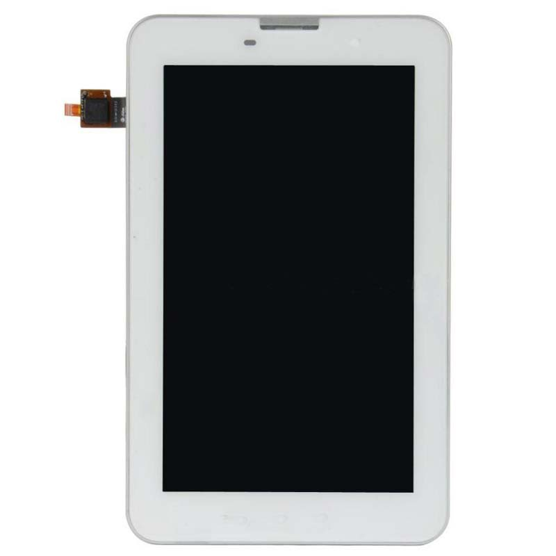 +Frame White LCD Display + Touch Screen Digitizer Assembly Replacements FOR Lenovo IdeaTab A3000 Free shipping