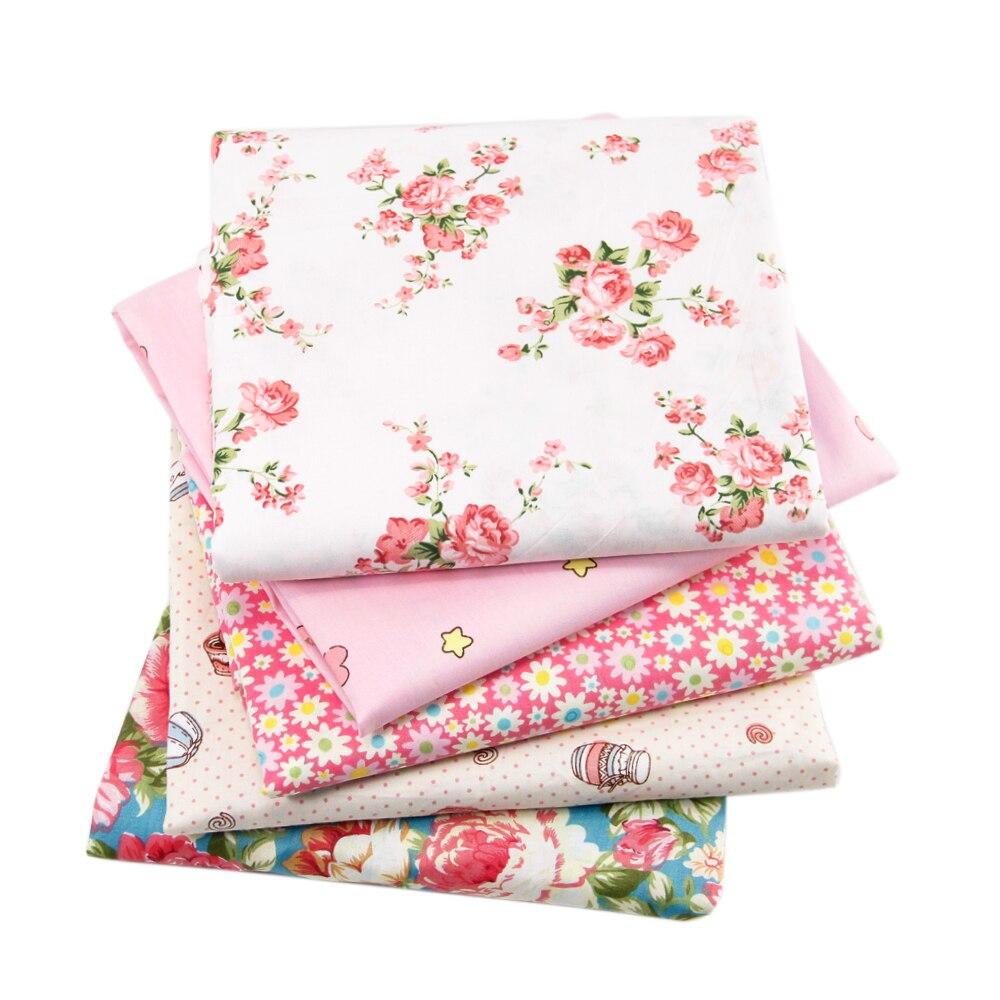 Дэвид аксессуары 50*145 см цветок пэчворка 100% хлопчатобумажная ткань для ткани малыш Постельные принадлежности домашний текстиль для Вышиван...