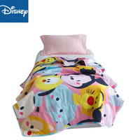 Disney Summer Disney Blanket Quilt 100% Cotton Thin Quilt Napping Sleeping Cartoon Children Bedroom Gift Mickey Mouse Promotion