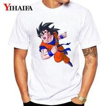 цена на Summer Dragon Ball Z T-Shirt Men Women 3D Print Goku Graphic Tees Casual Dragon Ball White Tee Shirts Unisex Tops