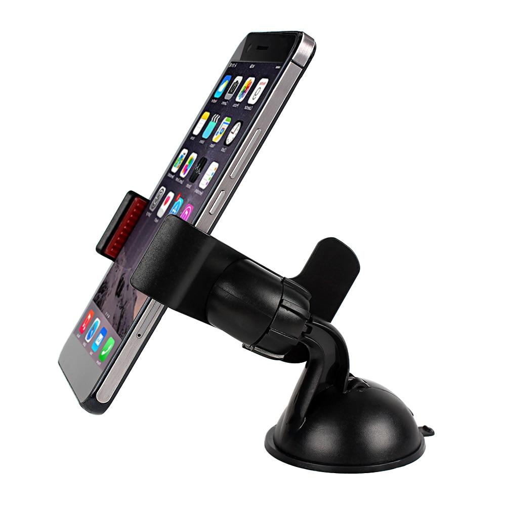 Universal Car Bracket Car Phone Stand 360 Degree Rotating Mobile Phone Bracket  Windshield Phone Holder For IPhone Xiaomi Huawei