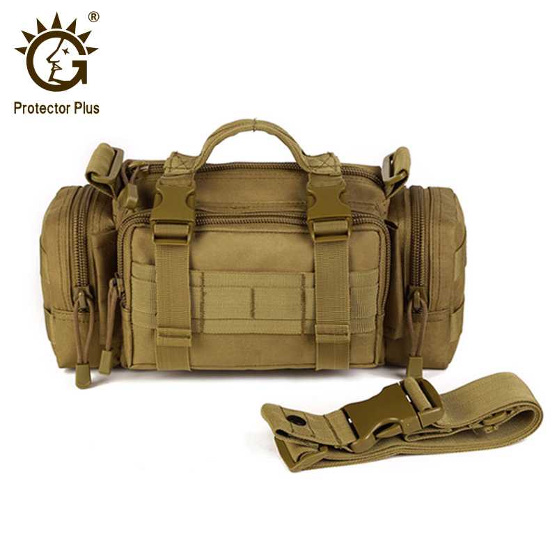 Protector Plus 3P Magic Tactical Waist Pack Molle Camping Hiking Waist Pouch Nylon Multi-function Hand Bag Outdoor Bag 6 Colors цена 2017