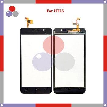10pcs/lot 5.0'' For Homtom HT16 Touch Screen Panel Sensor Digitizer Outer Glass Lens