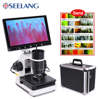 profesional Nailfold Capillary Microcirculation USB HD digital Microscope Blood Microcirculation + 7 or 9 Color LCD Displayer