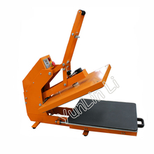 1400W Pull Type Magnetic Heat Press Machine 110V 220V Semi Automatic Hot Pressing Machine Can be