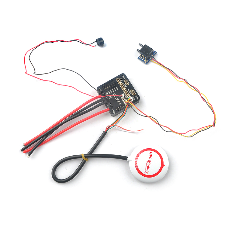 купить Newest INAV F4 Flight Controller w/ built-in OSD / PDB, STM32F405 MCU for RC Airplane онлайн