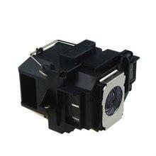 Para Epson POWERLITE X9/S9/1220/1260/VS200/EX3200/5200/7200 PJ-LMP V13H010L58 reemplazo de La Lámpara ELPLP58 LÁMPARA Compatible Con Epson
