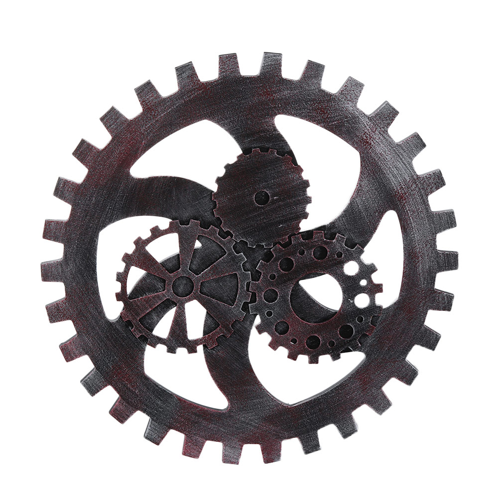 11 Styles Wooden Gear Wall Art Decor Home Bar Club Decorations Crafts Wheel Design Diy Ornaments In Stickers From Garden On
