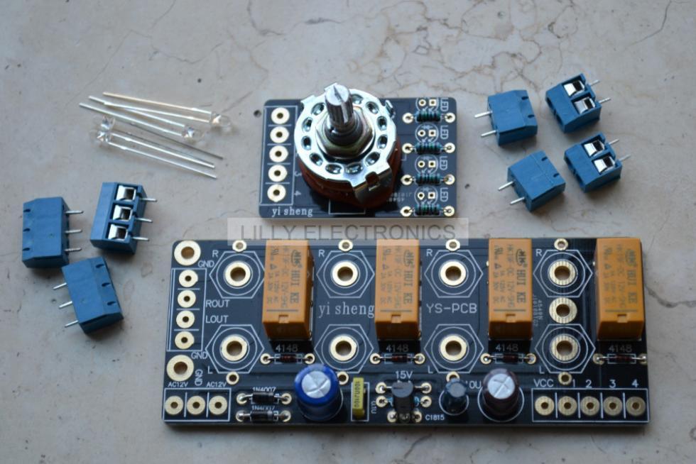 seletor de sinal de audio de retransmissao board placa de amplificador de sinal de comutacao