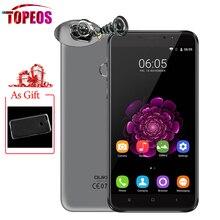 Oukitel U20 плюс мобильный телефон 4 г LTE 5.5 дюйма Android 6.0 MTK6737T Quad Core Full HD 1920×1080 отпечатков пальцев ID 13MP двойной сзади Камера