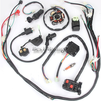 YY 125CC 150CC Big Bull Full Wire Harness Loom AC CDI Ignition Start System Coil For Motorcycle ATV