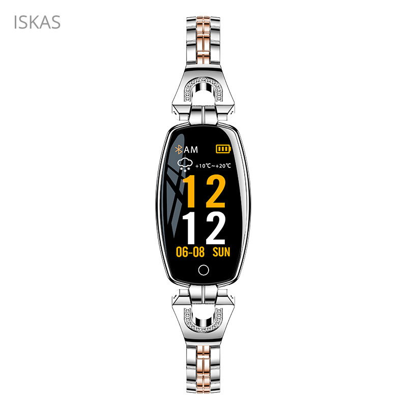 ISKAS Smart Bracelet Blood Pressure Measurement Sleep Tracker Pulsera Inteligente Fashion Fit Watch Heart Rate Fitness