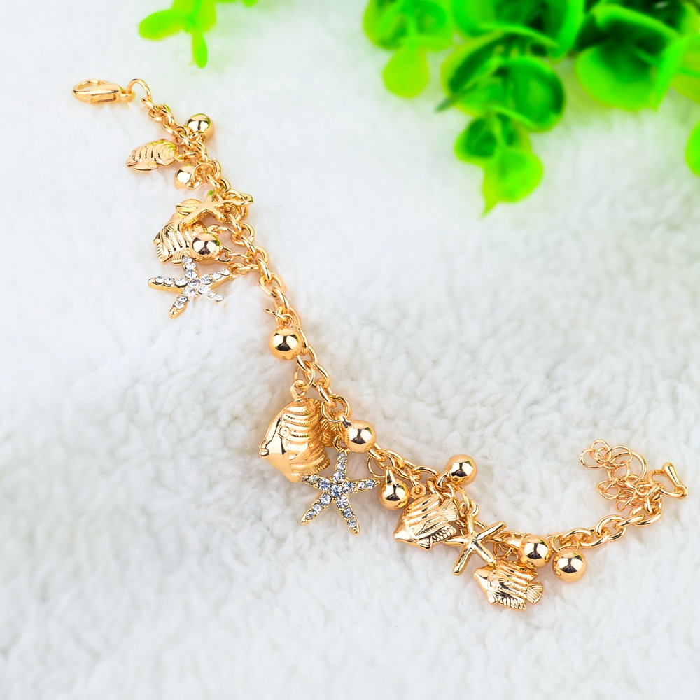 bracelet for gift woman prom delicate unique gold crochet her pin pearl bridal