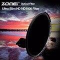 ZOMEI 52/58/67/72/77/82 мм ND Фильтр Pro HD Многослойным Покрытием ND1000 Фильтр Нейтральной Плотности для Canon Nikon Sony Pentax Olympus Объектив