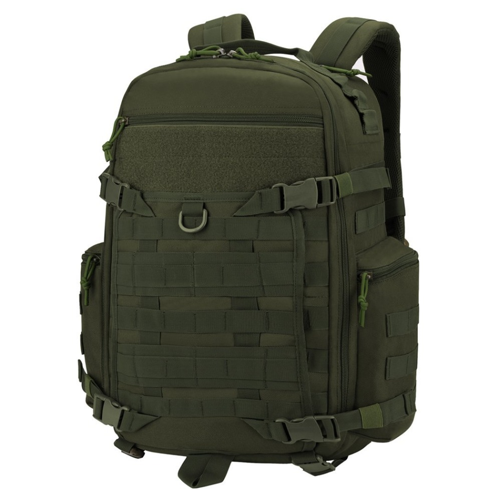 Mountaintop 35L Tactical Backpack Waterproof 600D Polyester Multipurpose Travel Military Molle Pack for Hunting Hiking Survival 35l waterproof tactical backpack military multifunction high capacity hike camouflage travel backpack mochila molle system