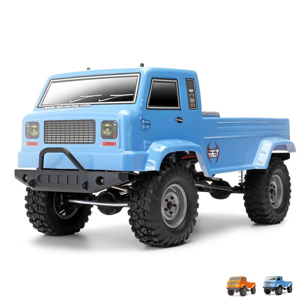RGT 137300 1/10 Scale Rc Trucks, Electric 4wd Off-Road Rock Crawler Truck, Rock Cruiser RC-4 Climbing HSP BLUE, ORANGE 3d принтер printbox3d rgt one