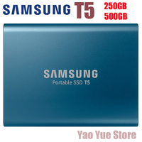 Samsung PC Portable SSD T5 250GB 500GB 250G 500G External Solid State Drives SSD USB 3