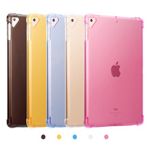 Case For New iPad 2018 2017 9.7 Clear Silicone With airbag Back Cover Air 1 2 Mini 5 4 3 10.5 2019