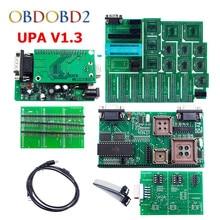 Best качество зеленый pcb V1.3 УПА USB Serial Программист Полный набор UPA-USB 1.3 Чип ECU Тюнинг EEPROM инструмент Бесплатная доставка