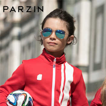 PARZIN Brand Kids Pilot Polarized Sunglasses Children High Quality Real Anti-UV400 Glasses For CoolBaby Pilot Sunglass 9769 - DISCOUNT ITEM  30% OFF All Category