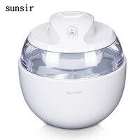 sunsir 220V home ice cream maker 0.6L portable ice maker Fashion fruit soft serve ice cream machine for home
