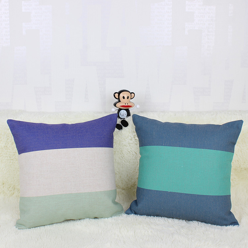 45 *45cm Modern style striped pillow cover For Sofa Seat Luxury Home Decor