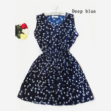 Summer Dress 2016 Casual Sleeveless Women Dress Beach Vestidos O-Neck Dresses Mini Party Bohemian Floral Dress