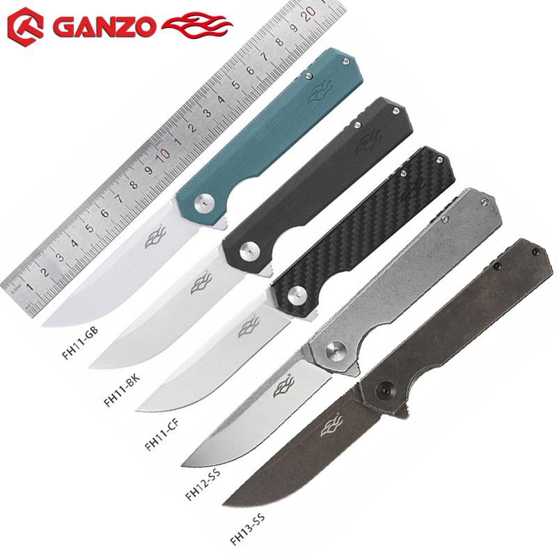 Ganzo Firebird FH11 FH12 FH13 складной нож D2 лезвие G10 ручка шарикоподшипник Открытый Отдых Охота утилита EDC карманный нож
