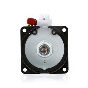 Image 2 - 220V synchroniczny AC motoreduktor 68KTYZ 68 KTYZ 28W synchroniczny z magnesami trwałymi motoreduktor 220V 2.5 5 10 15 20 30 40 50 60 obr/min