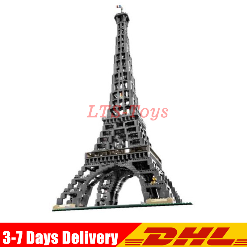 3478 PCS LEPIN 17002 City Street The Eiffel Tower Model Building Assembling Brick Toys Compatible Legoed 10181