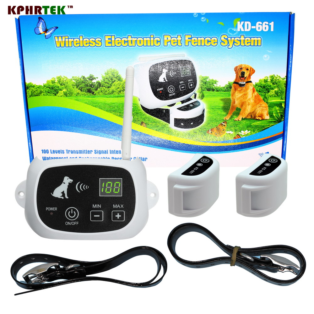 dog fence wireless containment system wire free fencing kd661 kphrtek best wireless fence systemchina