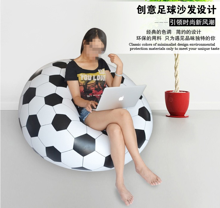 Football Basketball Design Extra Large Bean Bag Sofa For Home And Office 1