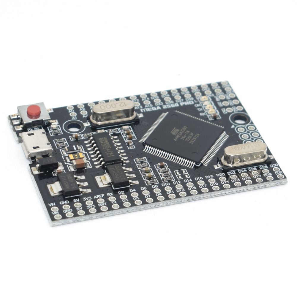 Image 3 - MEGA 2560 PRO Embed CH340G/ATMEGA2560 16AU Chip with male pinheaders Compatible for arduino Mega2560 DIY-in Integrated Circuits from Electronic Components & Supplies
