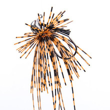 Trulinoya Dressed Jig Head Hook Chromed Metal Jigging Spinnerbaits with Skirt Weight 8g 12g for Bass Fishing Accessories P21