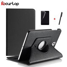 360 Degree Rotating Case For Samsung Tab A 10.1 2016 T580 T585 PU Leather Stand Cover For Samsung Galaxy Tab A SM-T580 SM-T585