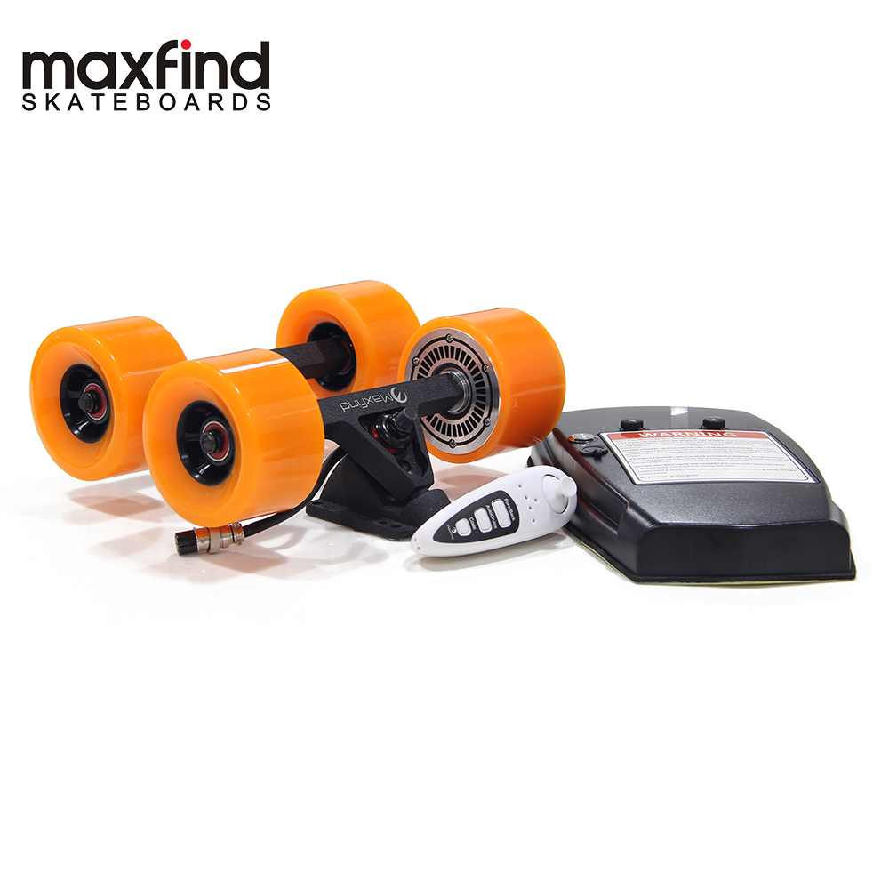 Image 2 - Maxfind World's Lightest Remote DIY Electric Skateboard Kit with Single Hub Motor 600W for Adult and Kids-in Skate Board from Sports & Entertainment