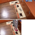 Super Soft Coffee Cup Pattern Small Rug Bedroom Kitchen Anti-slip Mat Carpet