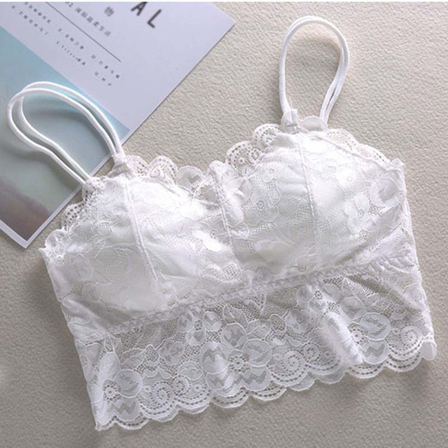 new brandy melville tops spaghetti strap ladies camisole black white lace bralette sexy tank top women summer crop top