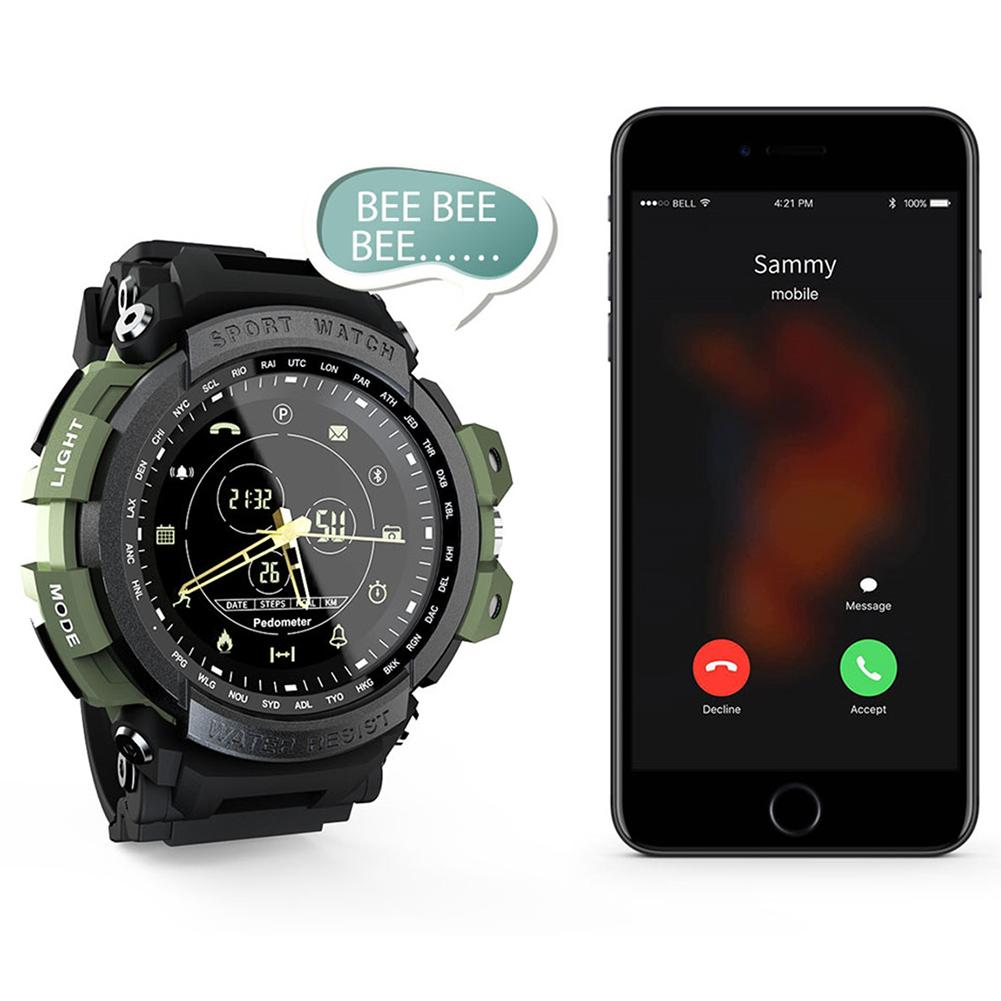 MK28 Smart Watch Fitness Tracker Outdoor Health Management Calorie Step Counter Bluetooth 4 0 Waterproof Sports Watch in Smart Watches from Consumer Electronics