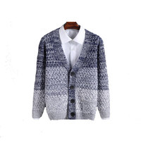 High Quality Mens Sweater New 2015 Autumn Winter Patchwork Cashmere Wool Cardigan Men Sweater Brand Casual