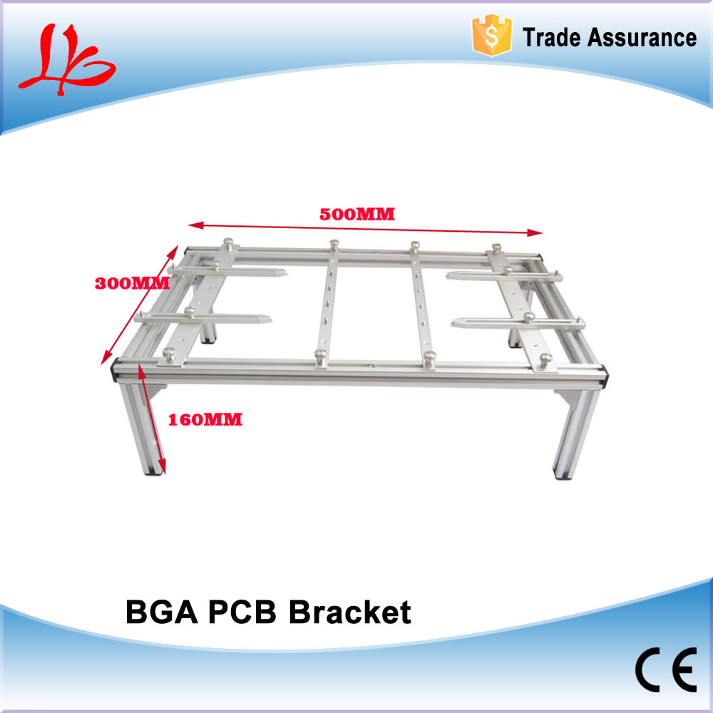 BGA bracket ,PCB Holder 500mmx300mmx160mm PCB holder for BGA rework machine to fix board free shipping hot sell bga accessories ps3 old clamp support bracket for ps3 fat 40gb 60gb pcb board holder