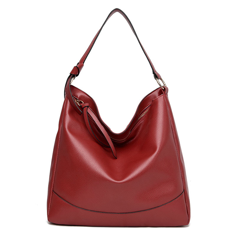 Fashion Women Handbag PU Leather Ladies Shoulder Bag Designer Girls Shopping Travel School Large Litchi Totes Phone Bags Mochila
