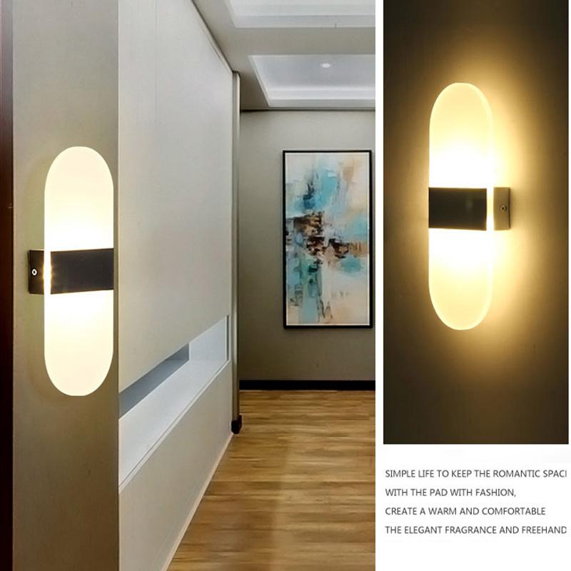 HTB1ayszQVXXXXaGXXXXq6xXFXXXM - Acrylic LED Wall lamp 3W 5W 6W Modern Bedroom Bedside decoration wall sconces light for home stairs loft LED light indoor decor