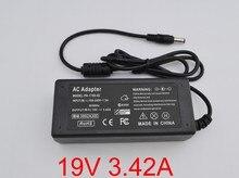"""1 sztuk 19V 3.42A ładowarka zasilająca dla # instrukcji obsługi JBL """"Xtreme przenośny głośnik 65W 19V 3A AC adapter dc"""