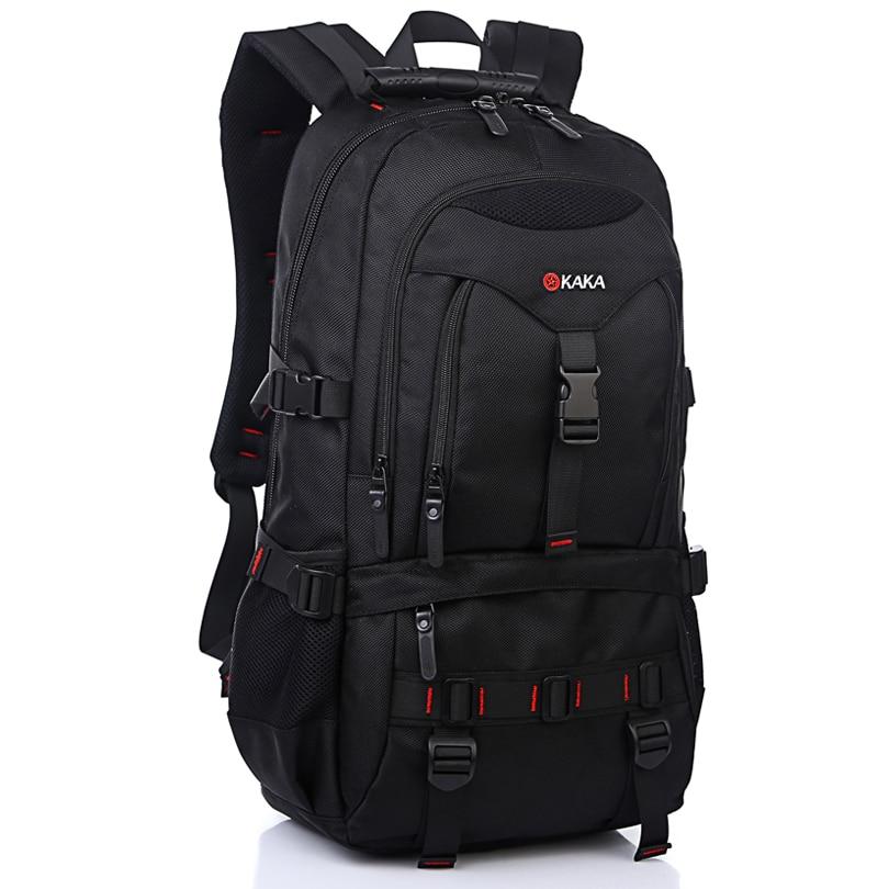 School Backpacks Loptop Backpack Large Capacity 35L-40L Bagpack Mochila Feminina Travel Luggage Bags for Men Waterproof Nylon