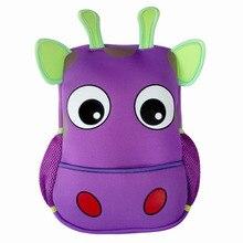 Toddler Kids mochilas Kindergarten vaca, mariposa, elefante bolso pequeño para niña y niño de la escuela mochila