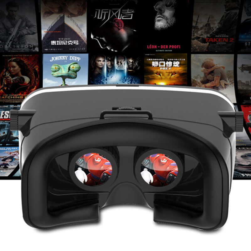 a62b6246f7d VR Shinecon 3D Glasses Universal VR Virtual Reality Google Cardboard Video  Headset Helmet Box For phone+Bluetooth Controller 6.0-in 3D Glasses  Virtual  ...