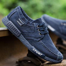 Canvas Men Shoes Lace-Up Men Casual Shoes Slip On Loafers For Man Driving Shoes New Breathable Male Footwear Spring Autumn 2018 fires men casual shoes adult spring breathable flat shoes autumn soft fashion loafers male lace up comfortable shoes man shoes