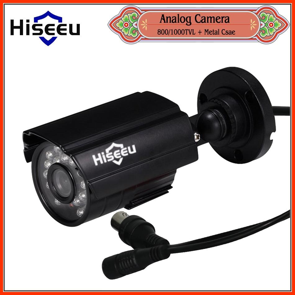 freeshipping Metal Case font b CCTV b font Camera analog 800TVL 1000TVL IR Cut Day Night